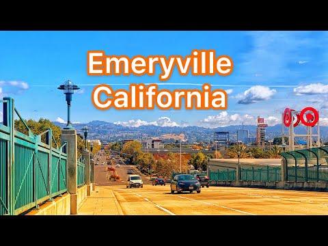 Emeryville CA -Bay Street, Crescent Marine Reserve, Marina & Park -Great views of San Francisco