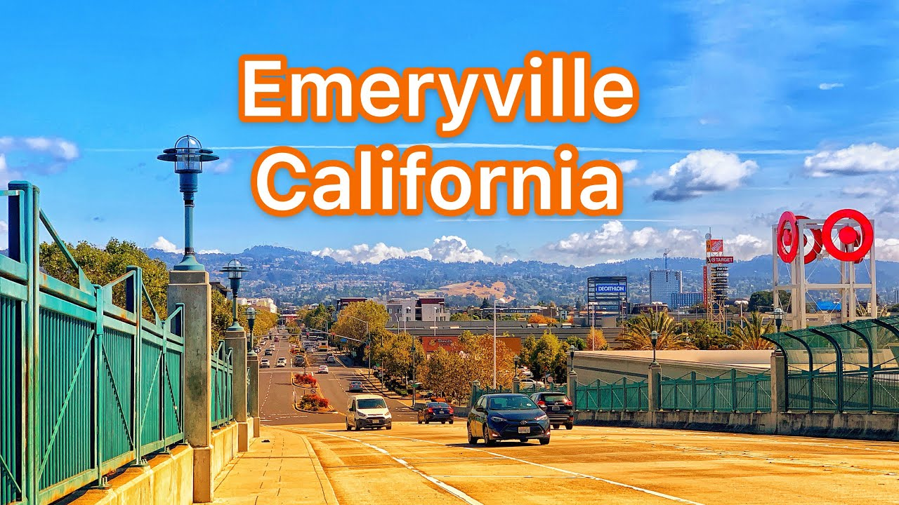 Emeryville CA -Bay Street, Crescent Marine Reserve, Marina & Park -Great views of San Francisco