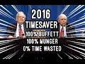 TIMESAVER EDIT - FULL Q&A Warren Buffett Charlie Munger 2016 Berkshire Hathaway Annual Meeting