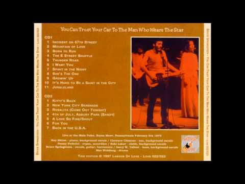 BRUCE SPRINGSTEEN   LIVE AT MAIN POINT 5 FEBUARY 1975   FULL CONCERT GREAT AUDIO