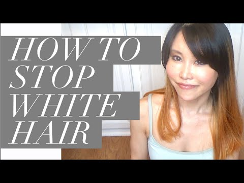 How to Stop White Hair | Don\'t Color Hair Roots, No-Poo or Lo-Poo ...