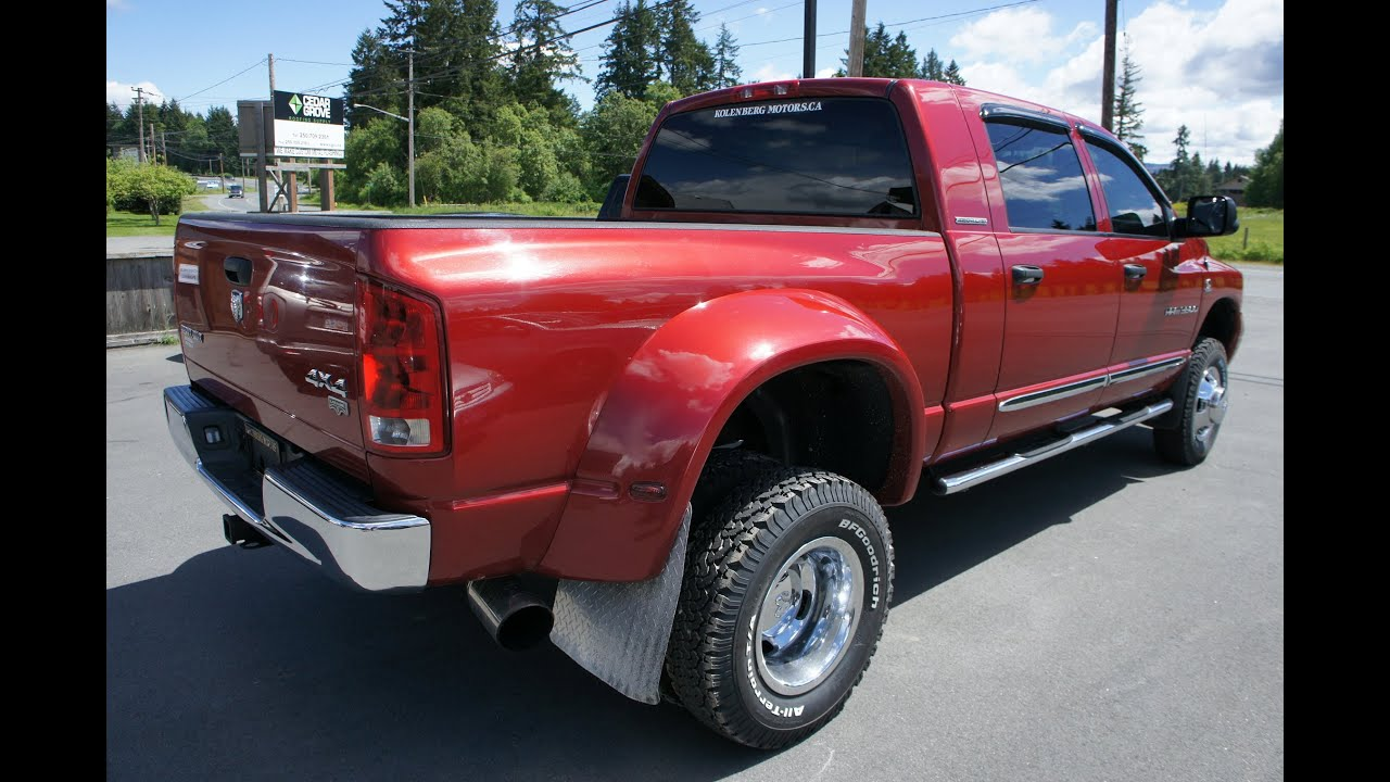 06 mega cab dually