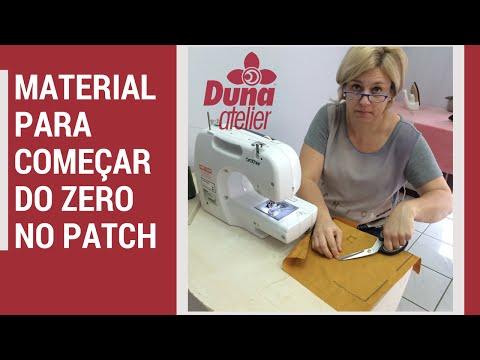 Material Para Começar Do Zero no Patchwork e Artesanato em Costura