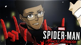 The exaggerated swagger of a black teen isn't enough to stop Rhino in Spider-Man: Miles Morales!