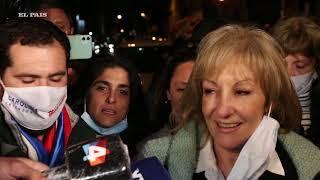La intimidad de los festejos del Frente Amplio: Carolina Cosse es electa intendenta de Montevideo