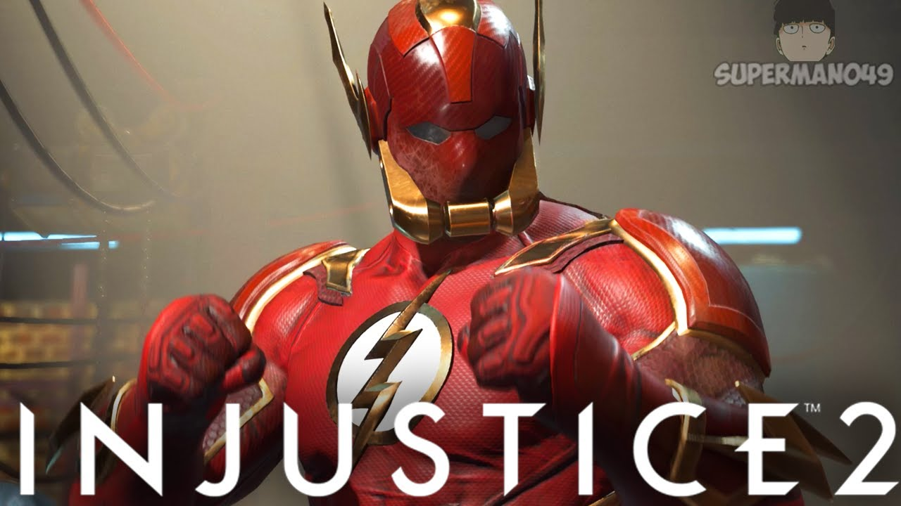 """THE MOST INSANE FLASH MIXUP! - Injustice 2: """"The Flash"""" Gameplay"""