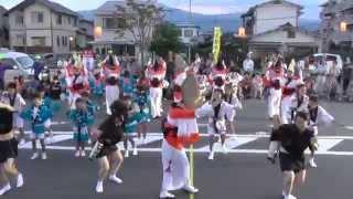 下島連さん  開成阿波踊り2014