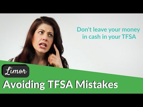 THE MOST COMMON MISTAKES OF A TAX FREE SAVINGS ACCOUNT (TFSA) | Financially Fabulous with Limor