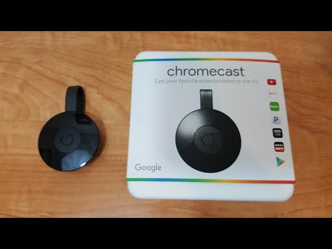 New Chromecast Unboxing And Setup