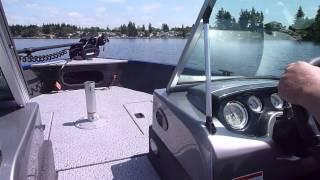 2014 Lowe FM165 Fishing Machine 165