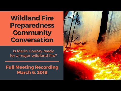 Wildland Fire Preparedness Community Conversation | March 6, 2018