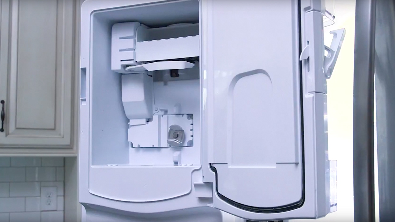 small resolution of ge appliances french door refrigerator icemaker installation