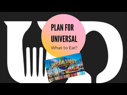 Plan For Your Universal Studios Vacation | Universal Studios | Dining Plan Options