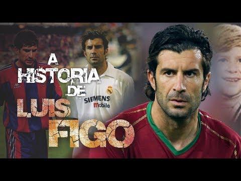 Conheça a HISTÓRIA do português LUIS FIGO