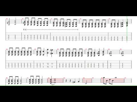 The Pretty Reckless Zombie Guitar Pro Tab (Best version) - YouTube