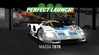 racing rivals mazda 787b perfect launch tutorial
