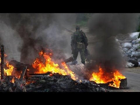 5.3.14 UKRAINE Update | BUILDING BURNT 38 Dead; 2 COPTERS Down; POLICE Captured | See DESCRIPTION