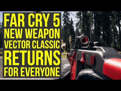 Far Cry 5 Vector RETURNS FOR EVERYONE How To Get It (Far Cry 5 Best Weapons - Far Cry 5 Weapons)