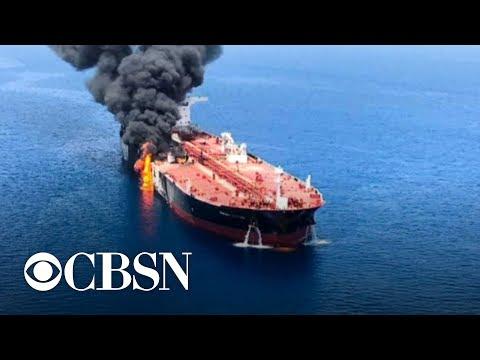 Trump builds case against Iran in tanker attacks, calls it a