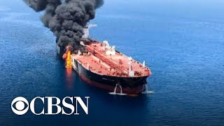 Trump builds case against Iran in tanker attacks, calls it a \