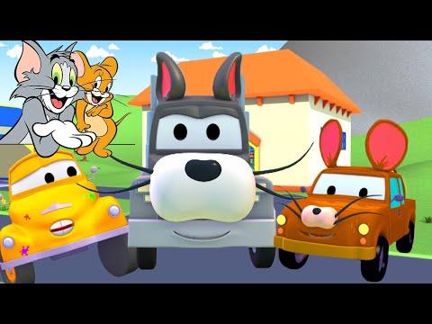 Том и Джерри - Малярная Мастерская Тома в Автомобильный Город