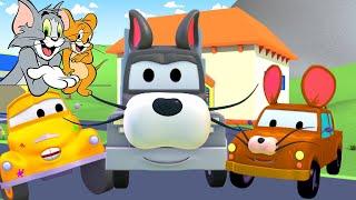 Том и Джерри - Малярная Мастерская Тома в Автомобильный Город 🎨 детский мультфильм