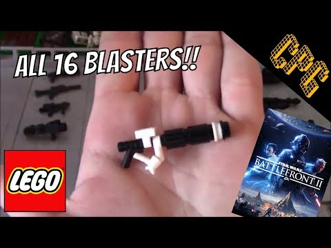 How to Build Custom Lego Battlefront 2 Blasters!! (All 16 Blasters)