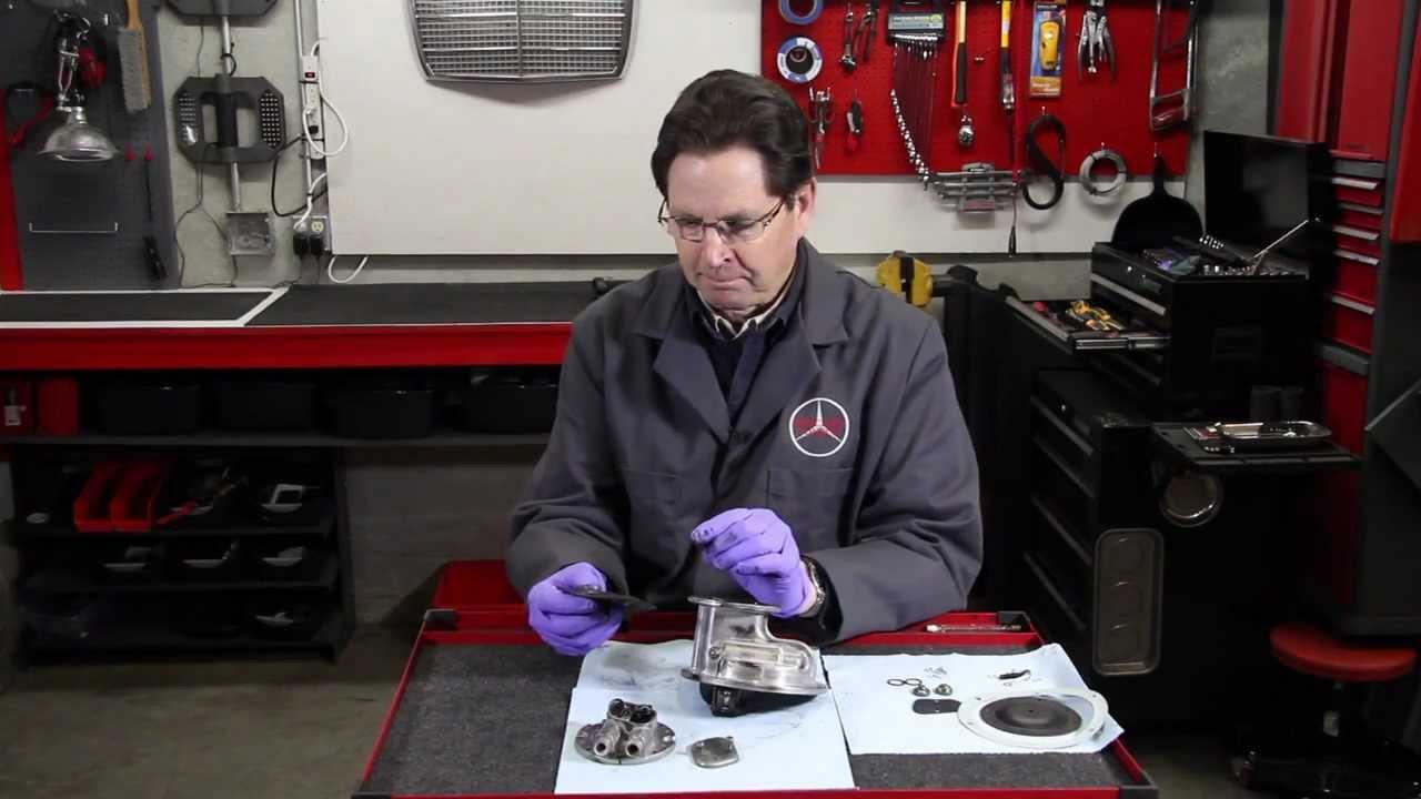 medium resolution of mercedes 1969 to 1979 w115 and w123 diesel vacuum pump overhaul kit explained