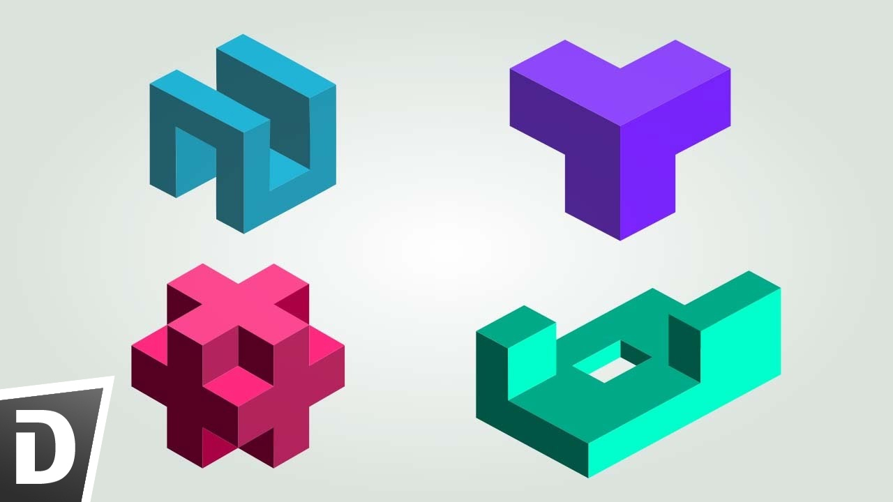 How To Make Isometric Logo