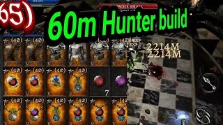 Anima ARPG Hunter / archary build 60m