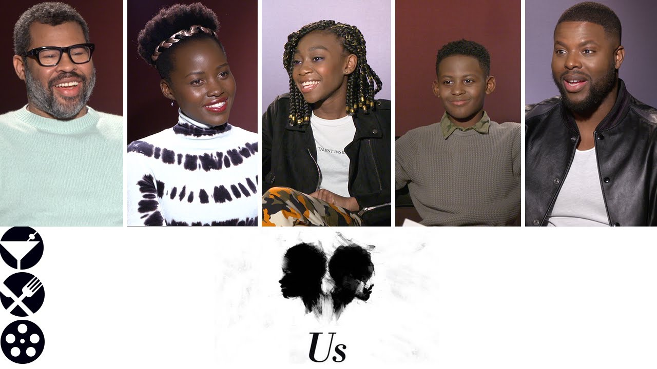 Us 2019 Interview With Jordan Peele Lupita Nyong O And The Cast Spoiler Free Youtube