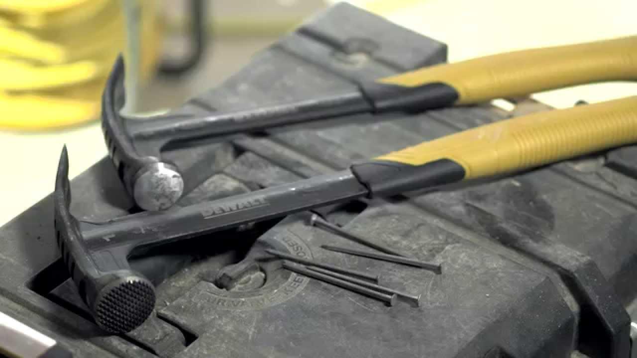 DeWalt High Velocity Hammer | Screwfix - YouTube