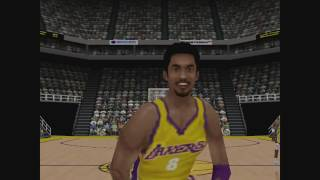 NBA Courtside 2 featuring Kobe Bryant Gameplay N64