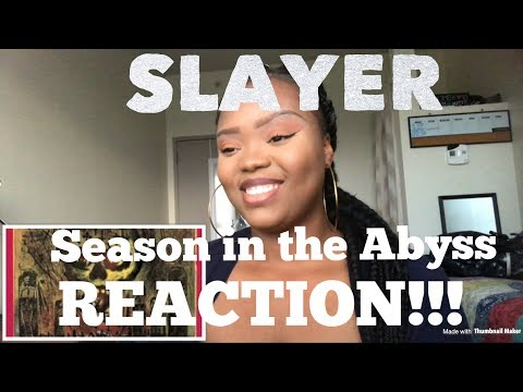 Slayer- Season In The Abyss REACTION!!!