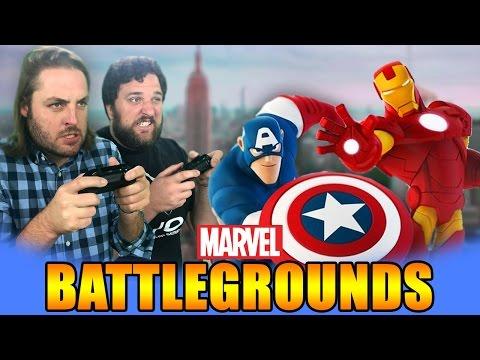 MARVEL BATTLEGROUNDS CIVIL WAR! - 동영상