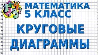 КРУГОВЫЕ ДИАГРАММЫ. Видеоурок | МАТЕМАТИКА 5 класс