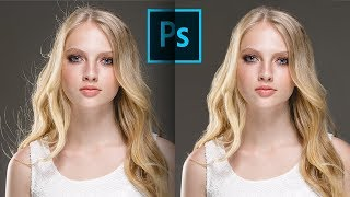3 Steps to Remove Flyaway Hair FAST in Photoshop