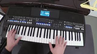 YAMAHA PSR-SX600 - Eight Highlights