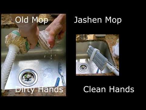 JASHEN multipurpose mop - Hardwood, Windows, Tile and Laminate floors