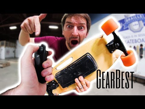 ELECTRIC BOARD GAME OF SKATE   FILMER CONTROLLED   GEARBEST!