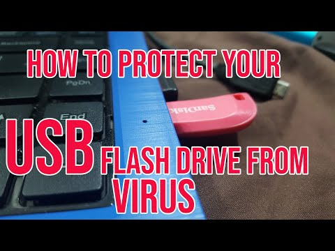 How To Protect USB Flash Drive From Viruses Permanently