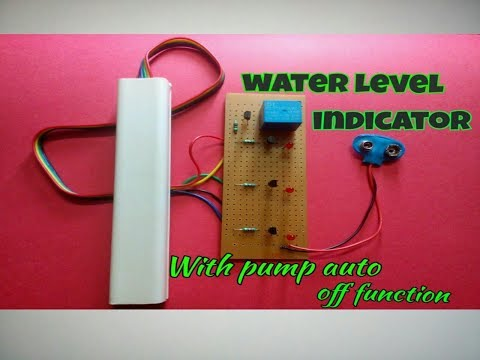 how to build a simple water level indicator