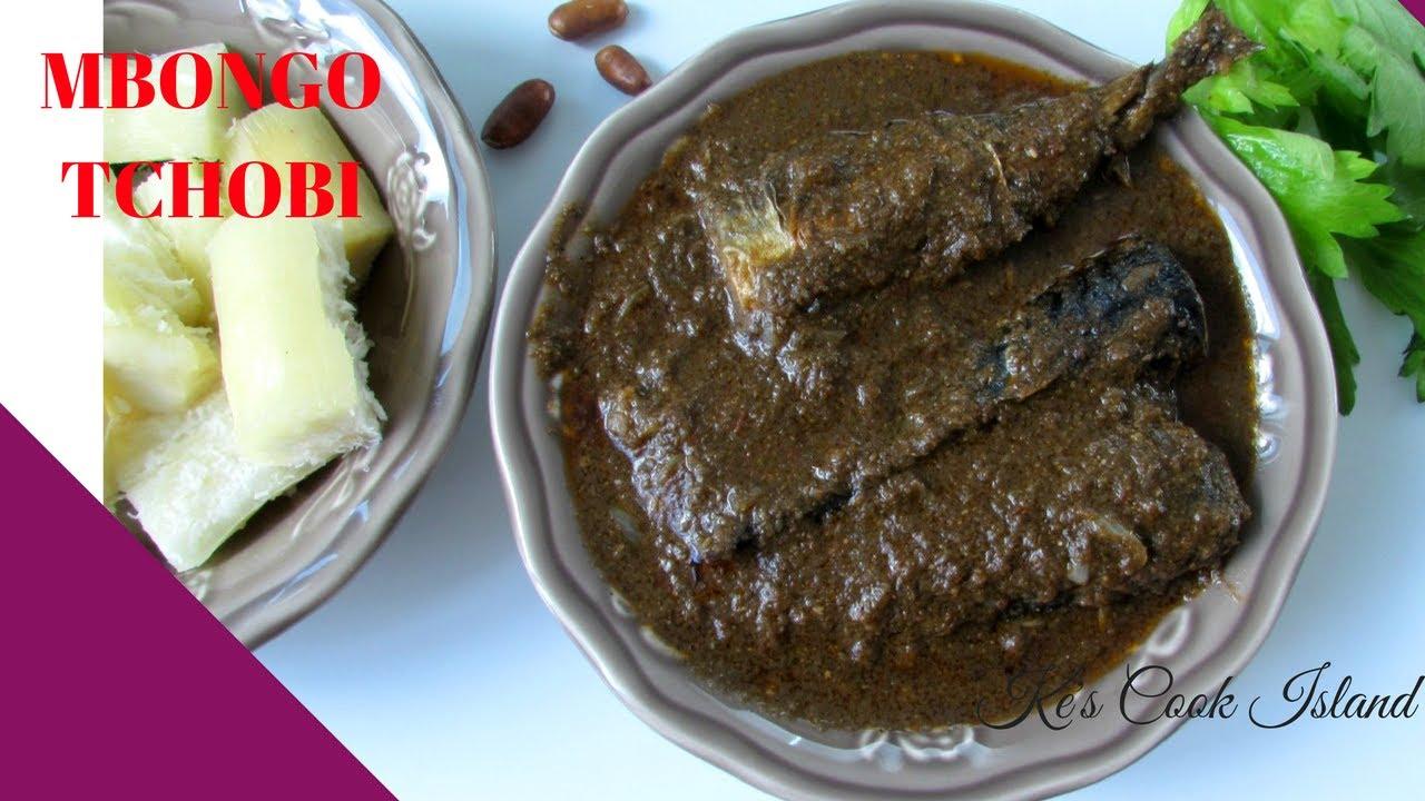 Mbongo Tchobi (Cameroonian  Spicy Black Sauce) [Episode 25]-Ke's Cook Island