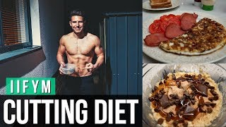 IIFYM FULL DAY OF EATING FOR FAT LOSS | Meal By Meal (2700 Calories)