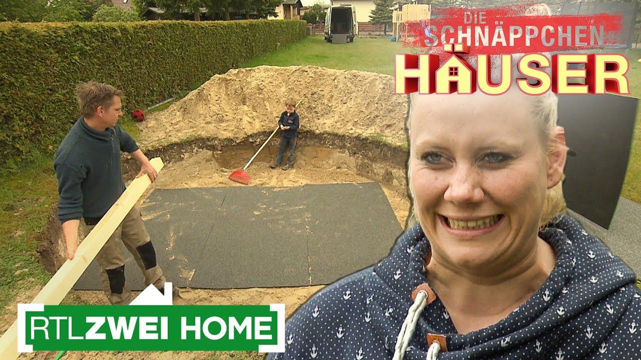 Pool und Spielplatz im Garten | Die Schnäppchenhäuser | RTLZWEI Home