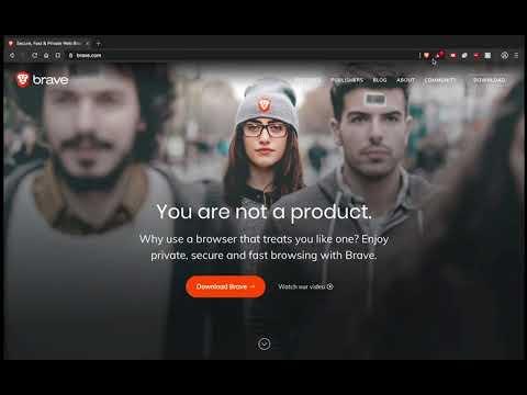 Browser Brave Free gives Token Grant. Take BAT token. 7