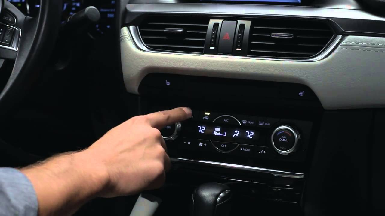 Mazda 3 Owners Manual: Automatic Climate Control