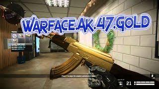 WARFACE Macro GOLD AK-47 Full Pack sense Zoom 2 0 /1.2 new update 2017