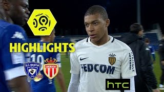 Sc bastia - as monaco (1-1) - highlights - (scb - asm) / 2016-17
