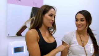 Total Divas Sneak Peek: The Bella Twins get their tattoos removed